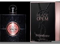 'BLACK OPIUM' BY YVES SAINT LAURENT,NEW/GIFT BOXED,90ML,STUNNING, COLLECTION OR DELIVERY AVAILABLE!