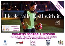 Female Beginner Football Session - West London