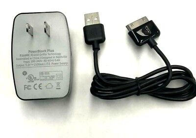Griffin Power Block Plus Wall Charger and Cable For Samsung Galaxy Tab 10.1 OEM