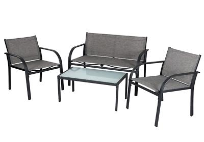 EVRE Valencia Outdoor Garden Furniture Set Patio Conservatory 4 piece set table