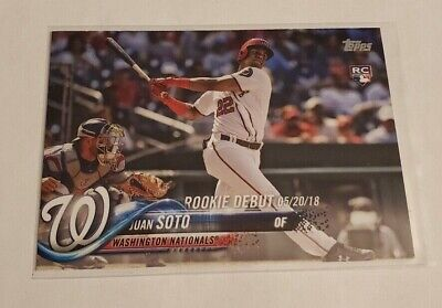 R56,939 - 2018 Topps Update #US104 Juan Soto Rookie Nationals