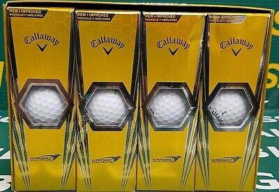 Callaway Warbird Golf Balls, 12 Pack, White, Long Carry Distance