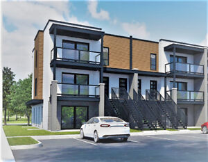 Luxurious New Condo! 2 or 3 BDRs Aylmer Close to Ottawa