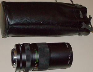 ZOOM LENS 55mm  1:45  f=80-200mm+ Macro +Cary Case