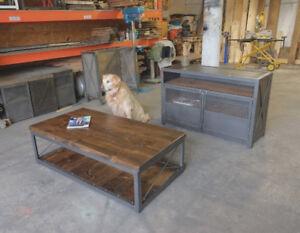 Custom Modern Industrial Style Furniture