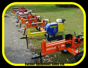 LOG SPLITTERS, Ontario, TRY BEFORE YOU BUY, LARGE INVENTORY