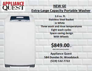 NEW GE portable Washer