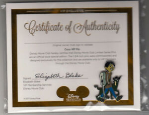 Coco VIP Pin With Certificate Of Authenticity