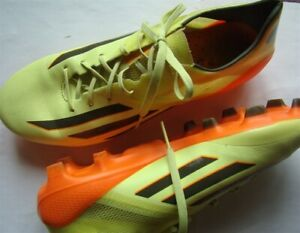 591755daa Adidas Outdoor Soccer Shoes in Yellow Orange Black Cleats 8.5 SZ