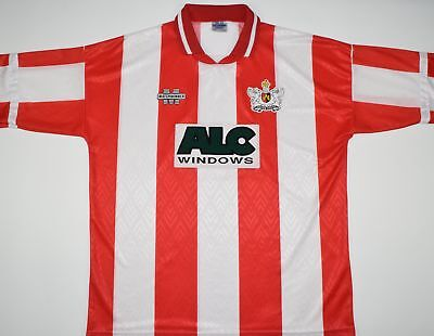 1994-1995 EXETER CITY MATCHWINNER HOME FOOTBALL SHIRT (SIZE XL) image