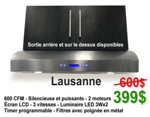 HOTTE DE CUISINE LIQUIDATION // KITCHEN HOOD CLEARANCE!