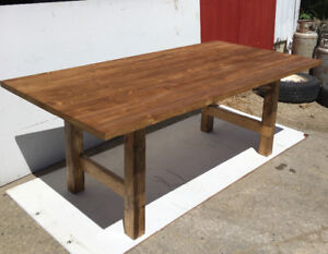 One of a Kind Rustic Dining Table!
