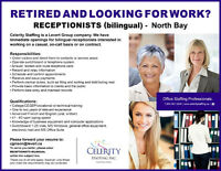 Bilingual Receptionist