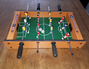 Petit jeux de soccer sur table.