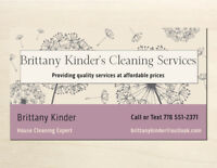 —-HOUSE CLEANING SERVICES—-