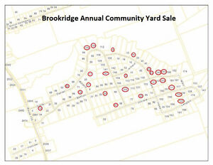 Brookridge Estates Irishtown Yard Sale - 24 houses over 30 famil