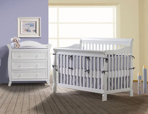 Inventory blow out sale! 2 PC crib and dresser
