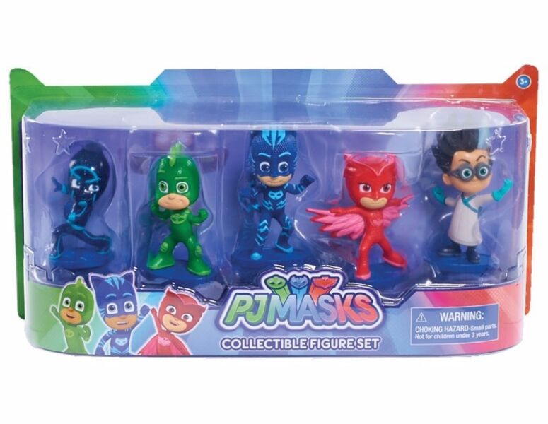 BNIB: Authentic PJ Masks Collectible Figure Set (5 Pack) Styles may vary
