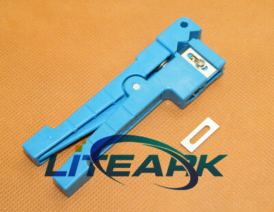 45-163 Coaxial Fiber Cable Stripper Cutting Tools Jacket Slitter Stripping Tool