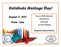 Celebrate Heritage Day at the Museum!