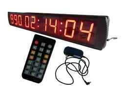 Semi-outdoor 4 Large Day Countdown Until Special Event LED Digital Wall Clock