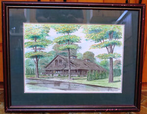 Watercolour, Bayfield, The Little Inn, Guest Cottage