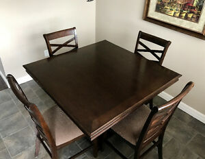 The Hayley 5 piece dining set Ashley Furniture