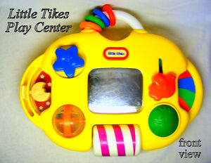 TINY TIKES CRIB TOY, 9 items, entertains, comforts and teaches