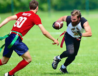 Wednesday night flag football league wants players and teams!