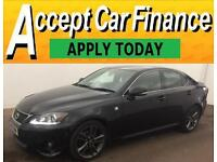 Lexus IS 200d 2.2TD 2011MY F-Sport FROM £46 PER WEEK!