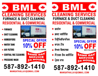Furnace & Duct Cleaning + Carpet cleaning by BML with BBB member