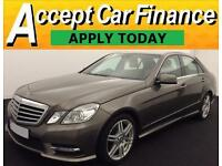 Mercedes-Benz E220 2.1TD ( 175bhp ) FROM £62 PERWEEK