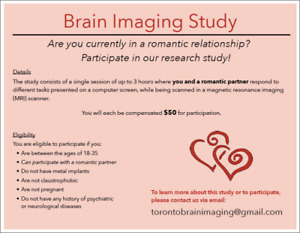 Couples Needed for Research Study! ($50 compensation)