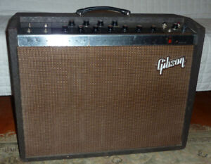 FOR TRADE - VINTAGE GIBSON GA-77 RVT VANGUARD AMPLIFIER