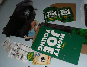 Mighty Joe Young Movie video store promo cardboard display stand