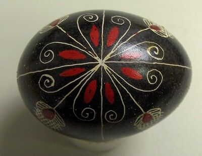 VINTAGE HAND PAINTED COLLECTOR OR EASTER EGG. ONE OF A KIND #10 of 34