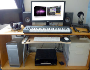 Apple MacPro 8_Core  w/ProTools HD10 MBox3 Pro, Rode, Avid Keys