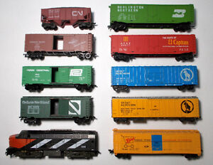 HO Mixed Lot For Parts Or Repair CN Diesel Shark Nose Locomotive