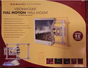 SANUS Heavy Duty Full Motion Articulating TV Wall Mount
