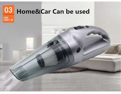 Wireless Car Vacuum Cleaner Super Suction Battery Mini Handheld In-Car Cleaner