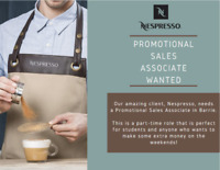 Promotional Sales Associate Wanted