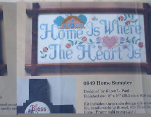 Cross stitch kits for $15 each