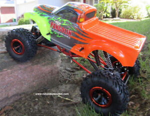 New RC Rock Crawler Truck 1/10 Scale 4WD RTR 1 Year Warranty