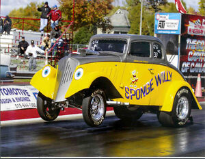 1933 Willys Coupe-- Sponge Willy  Drag Race Car