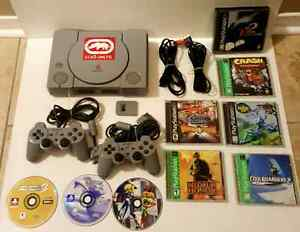 PLAYSTATION 1 PACKAGE  / ENSEMBLE