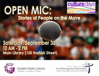 Stories of People on the Move - Culture Days