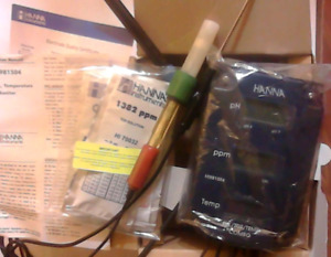 Hanna Water Tester (called a Tri Meter) (brand new in box)
