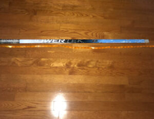 Blue Power tek ringette stick 45 inch