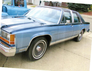 1981 Crown Victoria - Mint Condition - Appraised Value $6,000