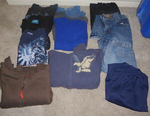 12-piece clothing lot for teenage boy